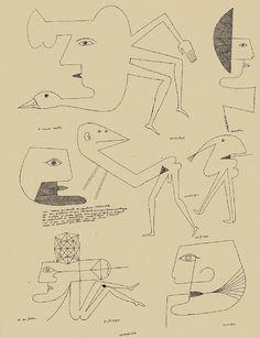 [ B ] Victor Brauner - Untitled (1963) by Cea., via Flickr