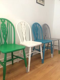 SOLD Dining chairs set of 4