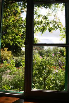 Monet's house, Giverny, he painted every square inch.