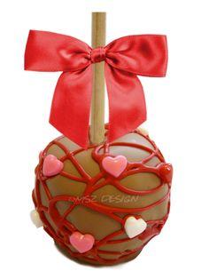 Valentines Sweets, Valentine Heart, Valentines Day, Oreos, Manzanas Enchiladas, Chocolate San Valentin, Carmel Candy, Apple Pop, Gourmet Apples