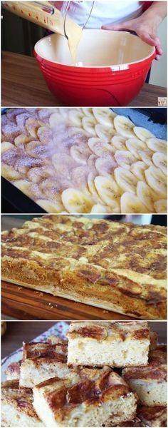 BOLO DE BANANA FOFINHO ( MAIS FACIL DE FAZER DO MUNDO ) #bolo #banana #fácil #receita #gastronomia #culinaria #comida #delicia #receitafacil