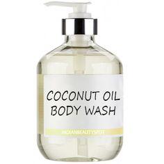 DIY Coconut Oil Body Wash for silky soft skin