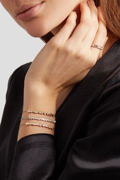 Suzanne Kalan - 18-karat Gold Diamond Bracelet - one size