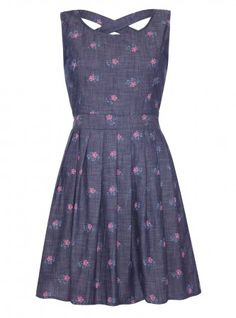 Yumi Chambray Posey Dress, £48.00. For more new season styles visit www.yumidirect.co.uk/new-in/