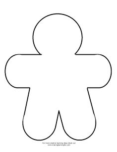 Printable Gingerbread Man