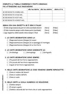 VERIFICA ORIENTAMENTO E CARTE CLASSE TERZA PAG 2