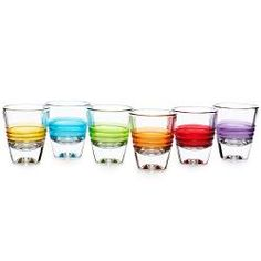 Day Shot Glasses - Set of 6