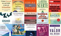 Una colección de los mejores libros de Desarrollo Personal
