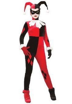 Adultos Harley Quinn de vestuario