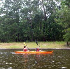 Greg and I had fun rowing The Waterway last Sunday . . .