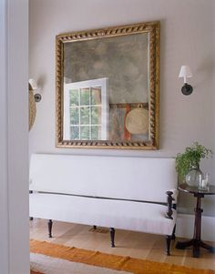 A Functional Entryway with long seating