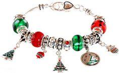 Lova Jewelry Christmas Tree Murano Glass Beaded Charm Bracelet Lova Jewelry http://www.amazon.com/dp/B00ACQT0YY/ref=cm_sw_r_pi_dp_4C58tb13R1ZES