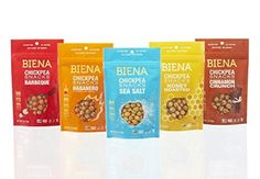 Biena Chickpea Snacks, Variety Pack, 2 Ounce (Pack of 5) by Biena -- Awesome products selected by Anna Churchill