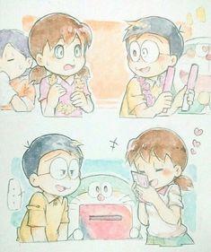 Doremon Cartoon, Doraemon Wallpapers, Shadow Of The Colossus, Anime Fnaf, Cute Little Girls, Chibi, Teddy Bear, Kawaii, Fan Art
