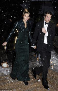 Jessica Hart And Boyfriend Stavros Niarchos Iii Attend Royal Wedding