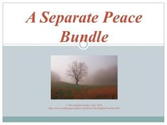 A separate peace themes