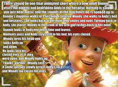 This would be perfect. And like, I'm crying. Why is Pixar not doing this? But if they dis make this short it would make me cry even more than Toy Story 3 Disney And Dreamworks, Disney Pixar, Walt Disney, Funny Disney, Disney Memes, Disney Characters, Disney Love, Disney Magic, Disney Stuff