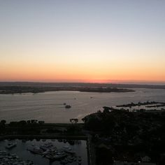 How would you like to have this view from your room? Nothing beats these San Diego sunsets! (Photo by @chasemacri)