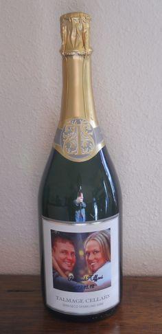 Wine with a personalized label for wedding. www.WineShopAtHome.com/DeniseLink
