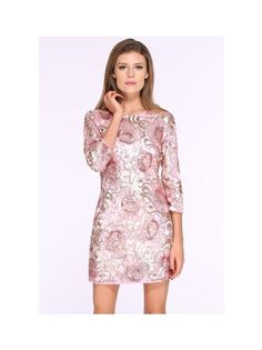 This lovely Pink Sequined Bodycon Trendy Dress from Felomhe is perfect for all those girls who love a little freshness in their party wardrobe. You check out for more such lovely dresses online @RedPolka