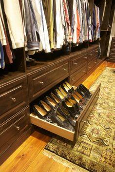 Closet Design .:. Storage Solutions for Men