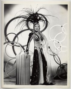 """""""The Heats On"""" (1943) Mae West in Joseff of Hollywood jewelry!"""