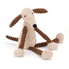 Slinky Dog Hund Kuscheltier von Jellycat - schmuseweich! Bonuspunkte sammeln, auf Rechnung bestellen, DHL Blitzlieferung!