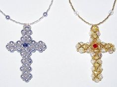 Beaded Crosses