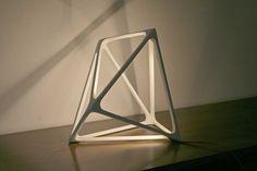 Geometric Molecula Lamp by Benjamin Migliore