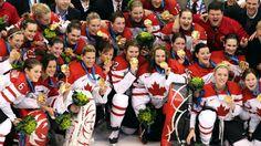 #Sochi 2014 - Team Canada - Gold Medal - Women's Ice Hockey