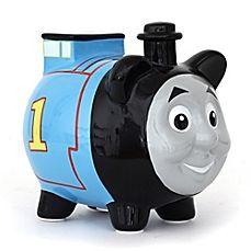 Thomas the train lamp designer kids pinterest the o 39 jays trains and lamps - Train piggy banks ...