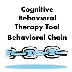 Behaviors can be analyzed clearly through the useful tool of behavioral chains.  CBT and DBT are treatments that look for ways to change thoughts and increase one's ability to cope with stress.