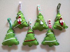 Alberelli decorativi per l'albero