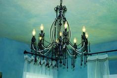 [intensified] Dream Home Master Bedroom Chandelier © by Anne Mitchell*