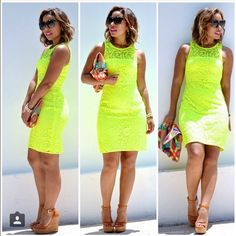 J. Crew Neon Lace Dress! Like NEW. Only worn once Gorgeous neon color. Fully lined. Zip back detail. J. Crew Dresses