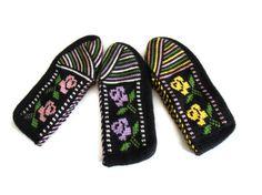Women's Handmade Slippers Hand knitted slippers by likeknitting