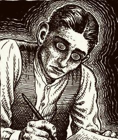 Franz Kafka por Robert Crumb