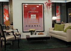 Andy Warhol Chanel / Dior / Vogue - Large Framed Prints. $275.00, via Etsy.