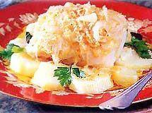 Bacalhau � Moda Antiga - Veja mais em: http://www.cybercook.com.br/receita-de-bacalhau-a-moda-antiga.html?codigo=8073