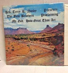 The Firm Believers Quartet My God How Great Thou Art LP Gospel Album Shrink Wrap #southerngospelquartetwithbandGospel