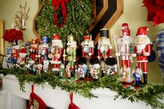 50 Merry Mantels and 200 Stocking Stuffers - The Glam Pad Christmas Fireplace, Christmas Mantels, Christmas Themes, All Things Christmas, Christmas Holidays, Christmas Crafts, Holiday Decor, Christmas Quotes, Christmas Christmas