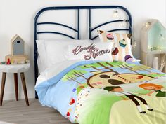 Candy House collection by Mr. Candy House, Happy Friday, Duvet Covers, Toddler Bed, Fox, Kids, Furniture, Collection, Home Decor