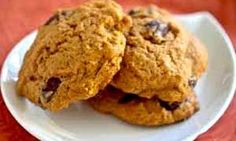 Galletas de Calabaza Pumpkin Recipes, Veggie Recipes, Sweet Recipes, Real Food Recipes, Cookie Recipes, Super Cookies, Yummy Cookies, Bakery Recipes, Cookies And Cream