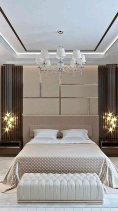 Bedroom False Ceiling Design, Luxury Bedroom Design, Master Bedroom Interior, Modern Bedroom Decor, Room Design Bedroom, Bedroom Furniture Design, Home Room Design, Bedroom Ideas, Modern Bedrooms
