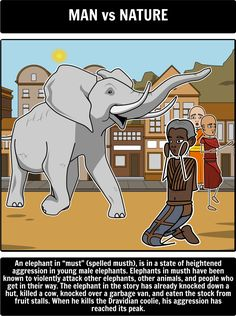 conflict in shooting an elephant Shooting an elephant - literary conflict: having students create storyboards that show the cause and effect of different types of conflicts strengthens analytical thinking about literary concepts have your students choose an example of each literary conflict and depict them using the storyboard creator.