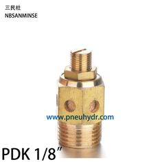 "High quality air muffler, Buy Quality pneumatic silencers directly from China throttle valve Suppliers: 10Pcs/lot PDK 1/8"" Type Exhaust Muffler Throttle Valve,Pneumatic Silencer,air muffler,sintered copper Brass made SANMINSE Sanmin"
