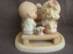 PRECIOUS MOMENTS I'M YOURS HEART AND SOUL - VERY RARE -CHAPEL EXCLUSIVE 4001779