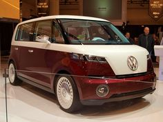 """""""Don't be a Bulli, Give us the Bus."""" #CarShowSafari #News #VW #Concept"""