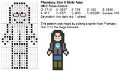 Dork Stitch: Sprite Patterns December Day 7: Cross Stitch the Cast of The Big Bang Theory!
