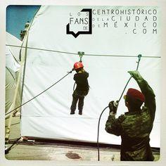 #Fuerzas #Armadas #Pasiónpor #Servir a #México Parte de lo que encontramos en la exposición en la plancha del #Zocalo